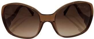 Louis Vuitton Brown Plastic Sunglasses