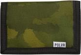 Poler Tri Fold Wallet Green
