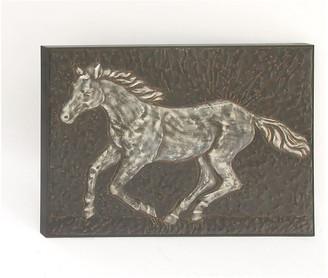 "Brimfield & May Metal Horse Wall Decor, 38""x26"""