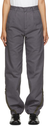 GR10K Grey Klopman Architectonic Trousers