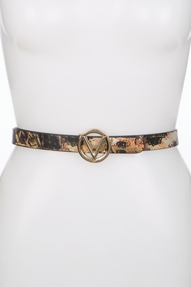 Mario Valentino Baby Wild Leather Belt - X-Large