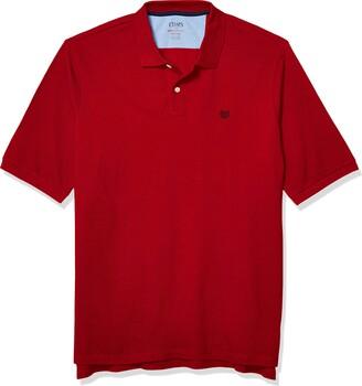 Chaps Men's Classic Fit Cotton Mesh Everyday Polo Shirt