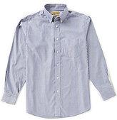 Roundtree & Yorke Gold Label Non-Iron Long-Sleeve Stripe Sportshirt