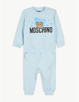 Moschino Cotton sweat set 3-36 months