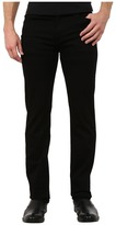 7 For All Mankind Slimmy in Nightshade Black Men's Clothing