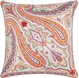 Etro Leek Paisley Cushion (60cm x 60cm), Orange