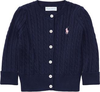 Ralph Lauren Cable-Knit Cotton Cardigan
