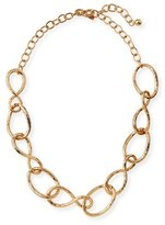 """Kenneth Jay Lane Twisted Open Link Necklace, 20"""""""