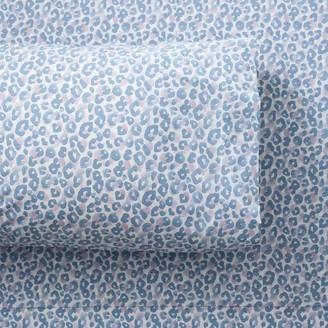 Pottery Barn Teen Leopard Organic Sheet Set