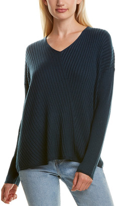 Eileen Fisher Ribbed Silk-Blend Sweater