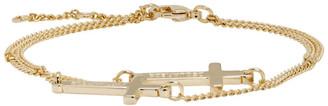DSQUARED2 Gold Jesus Bracelet