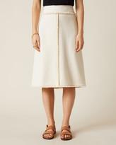 Thumbnail for your product : Jigsaw Basket Tweed Midi Skirt