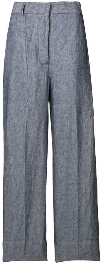 Lardini wide leg trousers