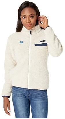 Columbia College North Carolina Tar Heels CLG Mountain Sidetm Heavyweight Fleece (Chalk/Collegiate Navy) Women's Fleece