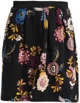 Vila VIBESTIA Mini skirt black
