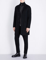 Jil Sander Buddha wool and cashmere-blend coat