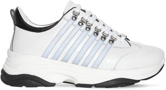 DSQUARED2 251 Bumpee Reflective Leather Sneakers