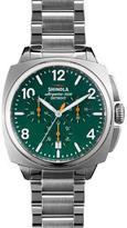 Shinola 40mm Brakeman Chronograph Watch, Green