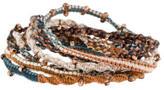 Chan Luu Braided Cord Wrap Bracelet