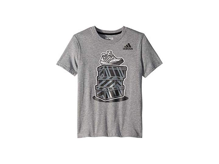 new concept a8232 04193 adidas Gray Boys  Tees - ShopStyle