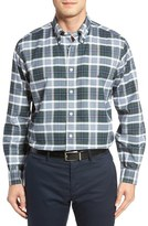 Brooks Brothers No-Iron Oxford Check Sport Shirt