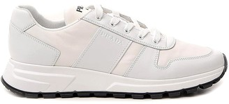 Prada Panelled Low Top Sneakers