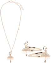 Monsoon Petal Ballerina Necklace And Click Clack