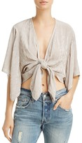 Faithfull The Brand Olsen Tie-Front Top