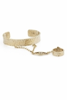 Low Luv x Erin Wasson by Erin Wasson Evil Eye Hand Comb in Gold