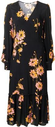 McQ Swallow Floral Dress