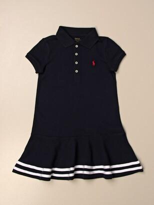 Polo Ralph Lauren Toddler Polo Dress In Cotton