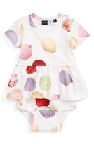 Molo Infant Girl's Frannie Ice Cream Print Skirted Bodysuit
