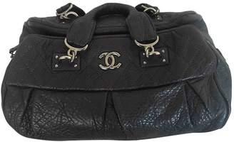 Chanel Purple Leather Handbags