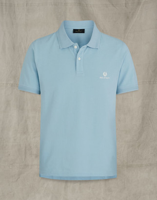 Belstaff SHORT SLEEVED POLO Blue