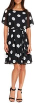 Wallis Women's Dot Print A-Line Dress