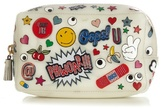 Anya Hindmarch All Over Stickers rubber make-up bag