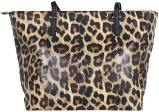 Kate Spade Brown Leopard Print Cedar Street Harmony Tote