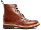 Grenson Fred Leather Brogue Boots - Mens - Brown