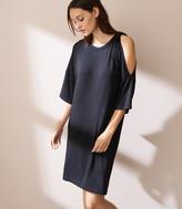 LOFT Lou & Grey Tie Shoulder Signaturesoft Dress