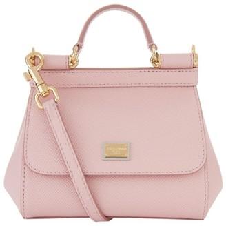 Dolce & Gabbana Micro Sicily Top Handle Bag