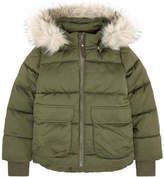 Molo Padded coat with faux fur - Hera