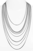 Nordstrom Multistrand Snake Chain Necklace