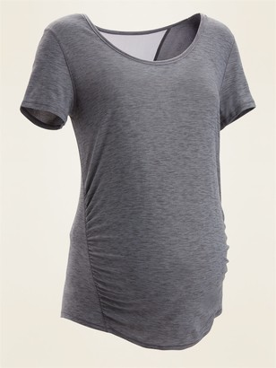 Old Navy Maternity Breathe ON Mesh-Back Tee