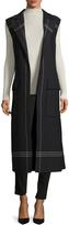 Jil Sander Women's Wool Striped Vest