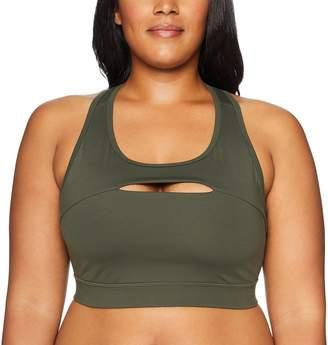 Core Products Amazon Brand - Core 10 Women's Icon Series - The Rebel Plus Size Sports Bra