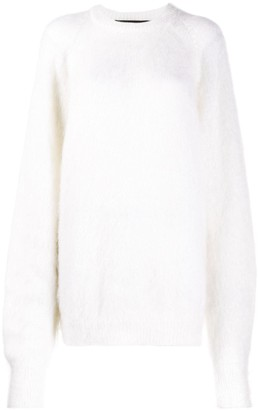 Haider Ackermann Fur Knit Jumper