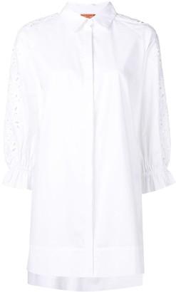 Ermanno Scervino Embroidered Button Down Shirt