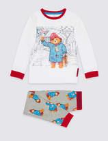 Marks and Spencer PaddingtonTM Cotton Rich Pyjamas (9 Months - 7 Years)