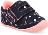 Carter's Every Step Stage 1 Crawling Taylor Sneakers, Baby Girls (0-4)