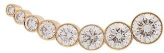 Sophie Bille Brahe 18kt Yellow Gold Croissant Claire Diamond Earring